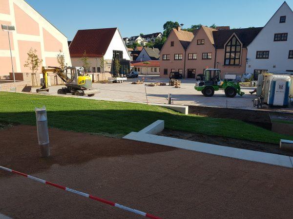 Neugestaltung Dorfplatz – Mömlingen